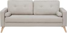 2-istuttava sohva beige KALMAR