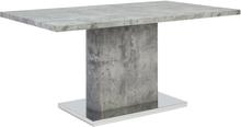 Ruokapöytä harmaa 160x90 cm PASADENA