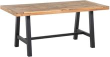 Pirttipöytä puinen musta SCANIA
