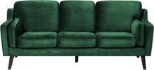 3-istuttava vihreä sohva LOKKA