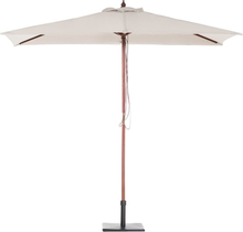 Puinen aurinkovarjo vaaleanbeige FLAMENCO