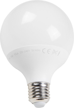 LED-lamppu E27, 15W, 9,5x13,3 cm Globe