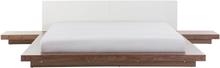 Japanilaistyylinen sänky ruskea 180 x 200 cm ZEN