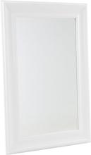 Klassinen seinäpeili valkoisella kehyksellä - 61 x 91 cm - LUNEL