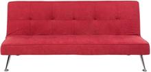 Vuodesohva kankainen punainen HASLE