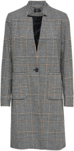 ONLY Checked Coat Women Black