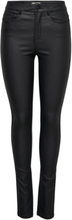 ONLY Onlanne Mid Coated Skinny Fit Jeans Women Black