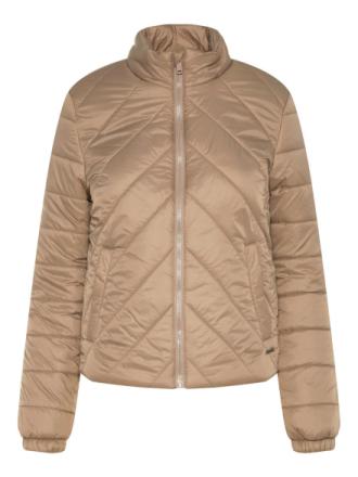 NOISY MAY Short Puffer Jacket Women Grey