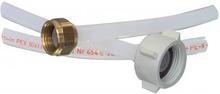 Indløbsslange 1/2 Tomme Lige - 3/4 Vinklet 10 bar 95 °C 1.50 m