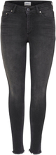 ONLY Onlblush Mid Ankle Skinny Fit Jeans Women Black