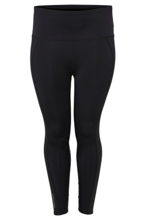 ONLY Curvy Solid Training Tights Women Black