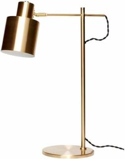 Hübsch - Bordlampe, messing h. 56 cm orange