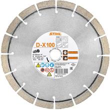 Diamantkapskiva Universal D-X100 TSA 230