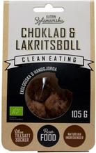 Clean Eating Choklad & Lakritsboll 105 g