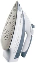 Braun TexStyle 7 TS 785 ESTP - Ångstrykjärn med automatisk avstängning - sula EloxalPlus - 2400 W - vit / grå