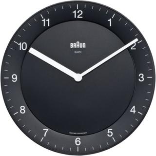 Väggklocka - Braun Quartz Black
