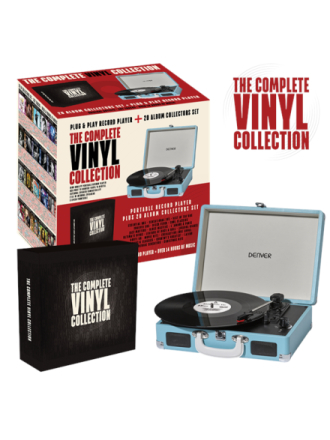 THE COMPLETE VINYL COLLECTION Platespiller - Blå
