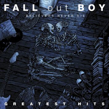 Fall Out Boy - Believers never die - The greatest hits -CD - multicolor