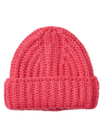 NOISY MAY Knitted Hat Women Purple
