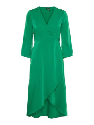 VERO MODA Wrap Dress Women Green