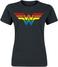 DC Heroes - Wonder Woman - Pride -T-skjorte - svart