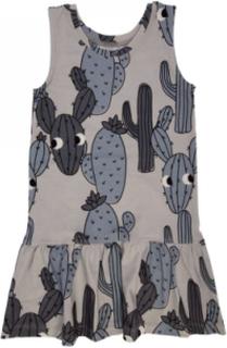 GREY CACTUS DRESS (storlek: 74/80)