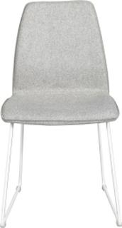 Fairbanks stol Ljusgrå/vit