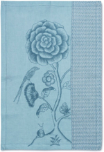 Torkhandduk 50 x 70 cm Spring to life lacy blue