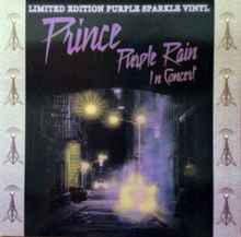 Prince - Purple Rain In Concert - Limited Edition Purple Sparkle Vinyl