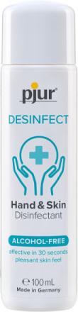 Pjur: Hand & Skin Disinfectant, 100 ml