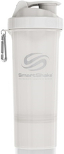 SmartShake Slim Pure White 500 ml