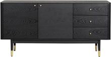 Fenwood sideboard Svart 160 x 42 cm