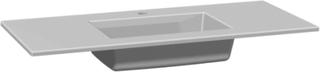 Dansani Edge møbelvask, 100 cm, hvid