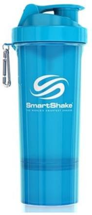 SmartShake Slim Neon Blue 500 ml