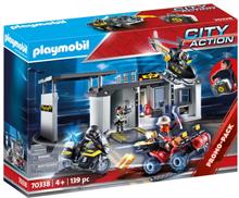 Playmobil City Action Medtagbar stor central för polisens insatsstyrka 70338