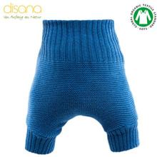 Disana - Wollüberhose (doppelt gestrickt) - Blau - Größe 1 - 6,5-8 kg (62/68)
