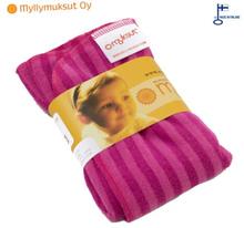 """Myllymuksut - """"Muksut"""" Bambus-Stretch-Prefold Einlagen (35x40 cm) - Rosa (Pinkki)"""