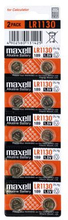 MAXELL Maxell LR1130 10-pack 11717100 Replace: N/AMAXELL Maxell LR1130 10-pack
