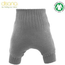 Disana - Wollüberhose (doppelt gestrickt) - Grau - Größe 2 - 8-10 kg (74/80)