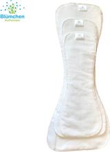 Blümchen - Saugeinlagen - Jugend- & Erwachsenenwindel (Mikrofaser) - XS (Junior) Bundweite 38-60cm