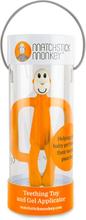 Matchstick Monkey - Zahnungshilfe (Beißring) - 100% Silikon - Orange