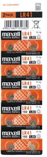 MAXELL Maxell LR41 10-pack 11716800 Replace: N/AMAXELL Maxell LR41 10-pack