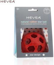 """Hevea - """"Star Ball"""" Greifball (100% Naturkautschuk) - Motorikspielzeug - Rot"""