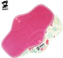 Anavy - Damenbinden (Baumwoll-Velours) - Maxi (Nacht) - Sugar Birds (Pink)