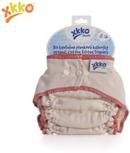 XKKO - Organic Höschenwindeln - 100% Bio-Baumwolle - verschiedene Größen - M (6,5-11 kg) - roter Saum