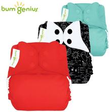 BumGenius - V5.0 Pocketwindel One Size - Spar Paket (3 Stück)