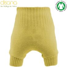 Disana - Wollüberhose (doppelt gestrickt) - Curry - Größe 4 - 12,5-15 kg (98/104)