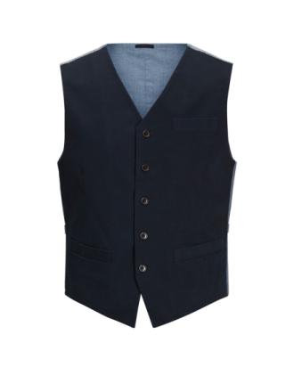 JACK & JONES Classic Waistcoat Men Blue