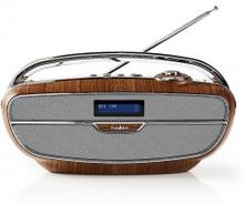Digital DAB+-radio   60 W   FM   Bluetooth®   Brun/silver