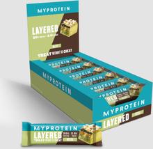 Layered Protein Bar - Matcha
